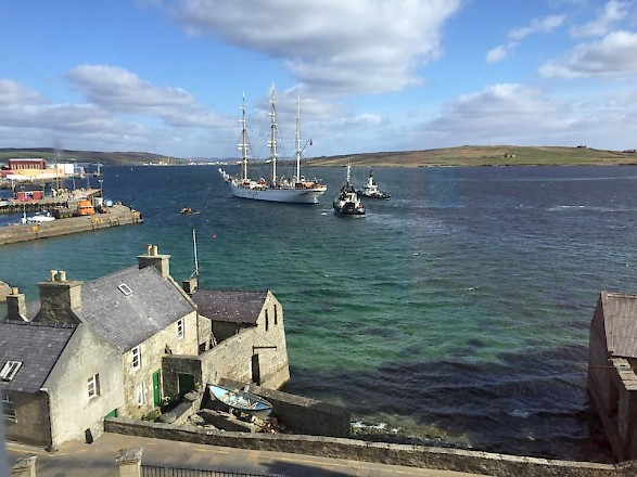 Boat in Lerwick Harbour